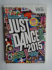 Just Dance 2015 Game Complete! Nintendo Wii