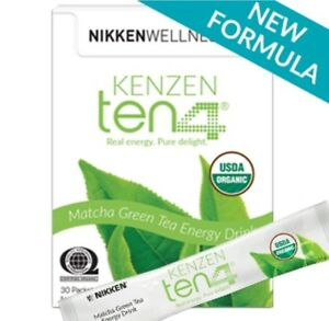 NEW - Nikken Kenzen Ten4 Energy Drink Mix