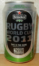 HEINEKEN 2011 RUGBY WORLD CUP Beer can from HOLLAND (33cl) for Export
