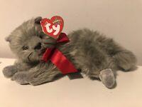 Ty Beanie Babies Beani the Grey Cat DOB July 26 2000 Rare New Bnwt Vtg Retro (15