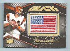 KEN ANDERSON 2009 UPPER DECK BLACK USA FLAG SIGNATURE AUTOGRAPH AUTO /75