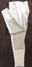 Catago Damenreithose, 3/4 Vollbesatz,weiß, Gr. 44, Besatz hell grau, (1270)