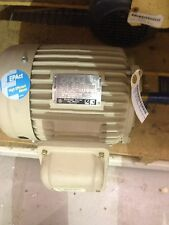 NEW GENERAL ELECTRIC ENERGY SAVER 1HP MOTOR 3 PHASE 1150 RPM  5KS145BCT305B