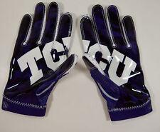 Texas Christian University TCU Nike Super Bad 4 Padded Football Gloves L New