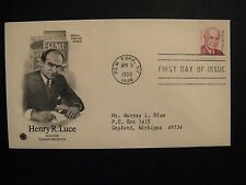U.S. Sc# 2935 FDC, Henry R. Luce founder/editor of Time & Life Magazines 1998