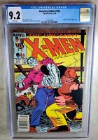 Uncanny X-Men #183 NEWSSTAND Juggernaut Marvel 1984 CGC 9.2 NM- WP Comic J0004