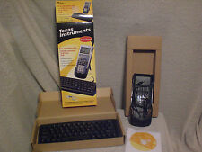 LOT 25 Texas Instruments TI calculator keyboard TI-83 TI-89 others, cables &more