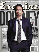 Esquire magazine Robert Downey Jr Eddie Van Halen Warren Durso Mireille Enos