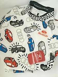Sugoi RS PRO Cycling Jersey, Audi print, New with Tags, Woman's Racing Jersey