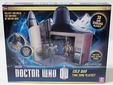 Doctor Who - Cold War Time Zone Action Figure 3D Card Diorama Playset