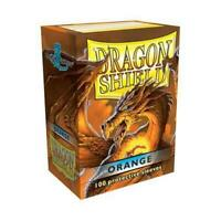 Dragon Shield Orange Card Sleeve Protectors 100 Pack, Free Shipping!