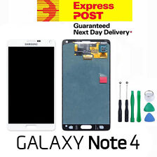 Samsung Galaxy Note 4 4G N910 LCD Touch Screen Digitizer Display Assembly WHITE