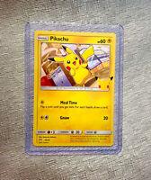 Pokemon Pikachu 25/25 25th Anniversary Mcdonalds Promo 2021 Card discontinued