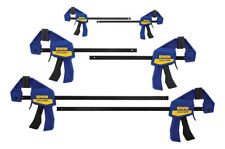 Irwin Quick-Grip 1964749 Mini and Micro Bar Clamps (Set of 6)
