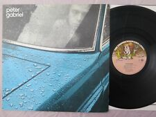 Peter Gabriel 1 (Car) ~ Charisma ‎~ 6369 978 ~ Netherlands 1977 press ~ NM NM