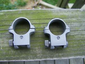 """1"""" Ruger High Rifle Scope Rings *Gray* No. 1 & Mini No. 5"""