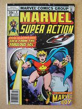 Marvel Super Action, No.4 November 1977 Marvel Boy NM Bagged and Boarded