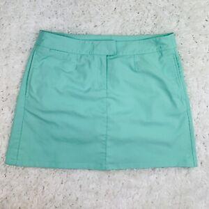 Puma Women Sz 14 Mint Green Color Sportlifestyle Skort Skirt Golf Tennis Pockets