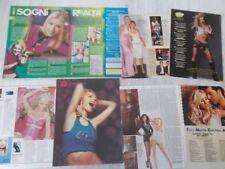 CHRISTINA AGUILERA_1999-2010_italian clippings_lotto articoli e fotonews d'epoca