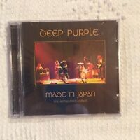 Deep Purple Sealed C.D. 2 Discs Made in Japan the Remastered Edition Live