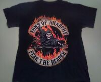 SONS OF ANARCHY - FEAR THE REAPER - Black T-Shirt