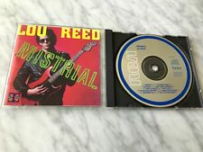 Lou Reed Mistrial CD Original MADE IN JAPAN RCA PCD17190 RARE Velvet Underground