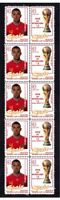 SPAIN 2010 WORLD CUP WIN MINT STAMP STRIP, MARCHENA