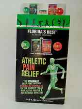 Florida's Best Athletic Pain Relief Package! Brand New Bottles!