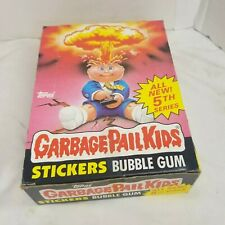 Garbage Pail Kids 5th Series Box 48 Unopened Wax Packs