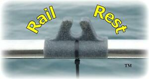 RAIL REST THE ULTIMATE BOAT ROD REST HOLDER with FREE UK postage