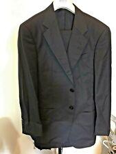 Armani Collezioni Mens Black  Suit 38 sht NEW MSRP 2000$