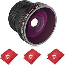 Opteka Fisheye Lens for Sony a9 a99 a99V a77 a7R a7S a7 a6500 a6300 a6000 a5100