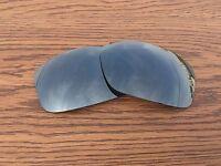 Inew Black Iridium polarized Replacement Lenses for Oakley New Valve