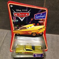 DISNEY PIXAR CARS - GOLD RAMONE - SUPERCHARGED PACK - RARE / NEW