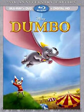 Disney Inspirational Animated Masterpiece Dumbo Elephant Blu DVD & Digital Copy