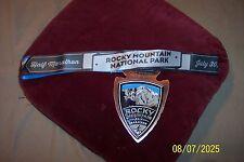 rocky mountain national park half marathon medal