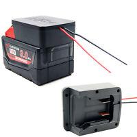 Adapter Für Milwaukee M18 18V Li-ion Battery to 18V Akku Batterie Adapter+Kable