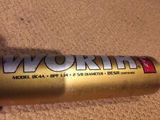"Worth BC4A Copperhead CU31 32"" 29oz 2 5/8 diameter baseball bat BESR certified"