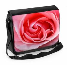 Pink Rose Laptop Messenger Bag - Floral Flower