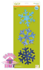"Accuquilt GO! Fabric Cutter Die 7"" Snowflakes Frozen Quilting Sew 55450"