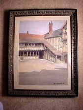 WILLIAM LADD TAYLOR MAGNIFICENT WATERCOLOR SIGNED & BEAUTIFULLY FRAMED!!