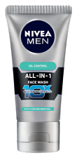 Nivea Oil Control Face Wash For Men Whitening Effect 50 Gm Skin Lightening Cream