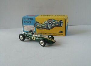 CORGI 155  LOTUS CLIMAX F1 RACING CAR - 1964