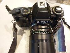 Vintage- Ricoh XR7  35mm SLR Camera w 75-200mm Toyo Auto Macro Zoom Lens