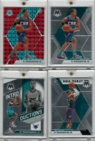 (4) 2019-20 Panini Mosaic PJ Washington Jr Rookie Lot Red Prizm Base Hornets
