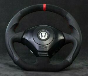 Honda S2000 custom steering wheel flat bottom s2k AP1 AP2 1999-2009