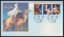 MayfairStamps Australia FDC 1996 Christmas Combo 3 First Day Cover wwr5585