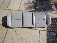 MERCEDES C CLASS COUPE C200 W203 CL203 REAR BACK BENCH BOTTOM GREY LEATHER