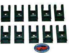 NOS Ford Lincoln Mercury Factory Correct #8 Screw Bolt U Clip Panel J Nut 10pc B