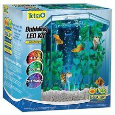 Tetra ColorFusion Starter Kit 1 Gallon Hexagon Aquarium Fish Tank